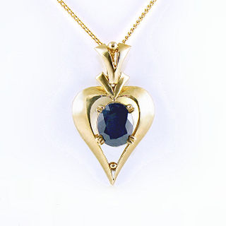 Natural Blue Sapphire 9ct.