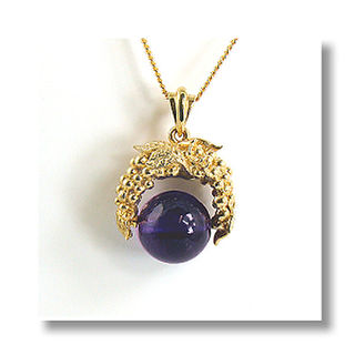 Natural  Amethyst Bead 9ct.
