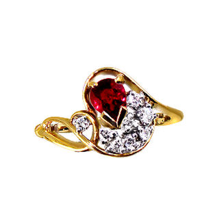 Natural Ruby & Diamonds