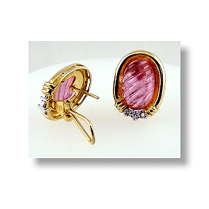 Tourmaline Earrings 18ct.