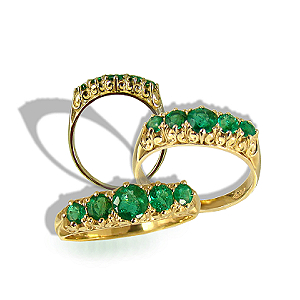 Natural Emeralds 9ct.