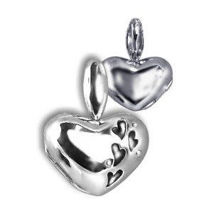 Silver Heart Enhancer Locket