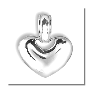 Enhancer style Silver Heart