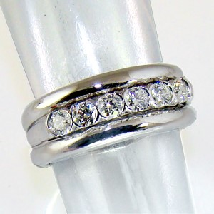 Diamond 18ct. White Gold