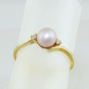 Pink Cultured Pearl